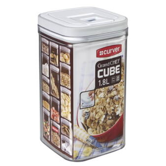 CURVER GRAND CHEF CUBE TÁROLÓ 1,8L