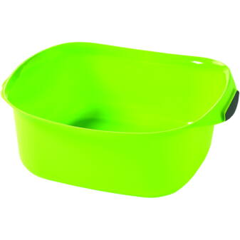 CURVER NÉGYZETES MOSDÓTÁL 10L - Zöld/szürke
